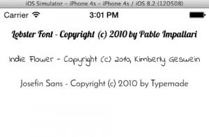 fonts-ios