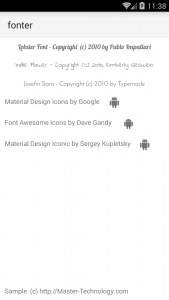 fonter-android